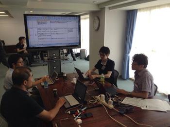 製品技術強化委員会 夏合宿開催