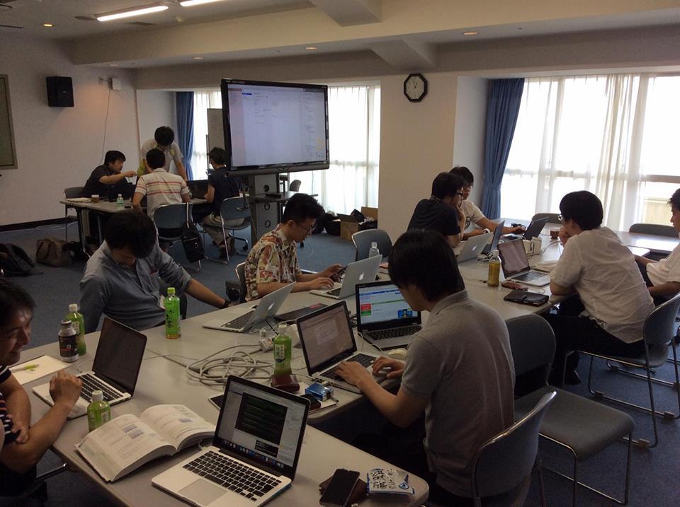 製品技術強化委員会夏合宿(2015.8.7-8)